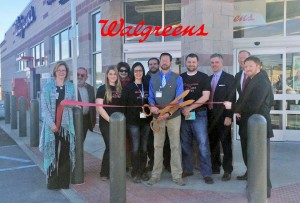 Re-opening Celebration - Walgreens - Ribbon cutting February 13, 2015