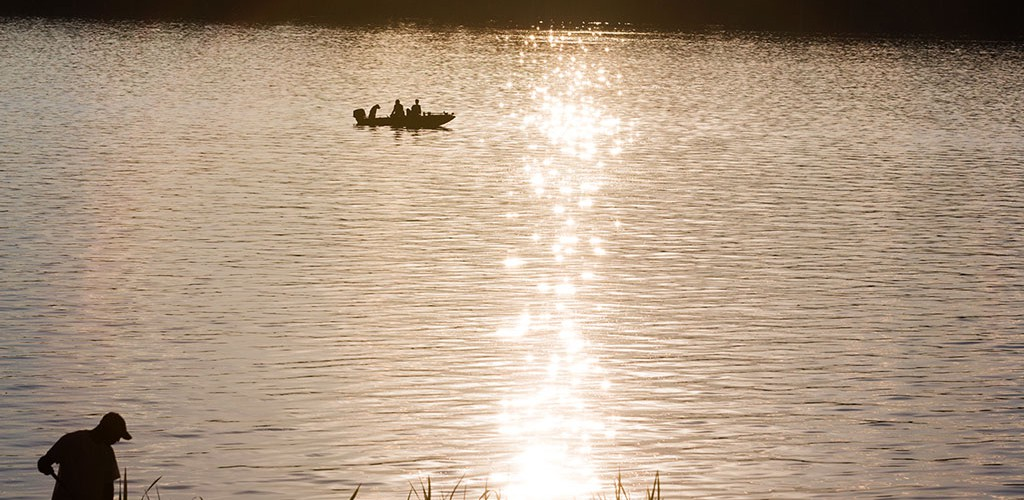Peaceful water recreation in Marion County, Mississippi